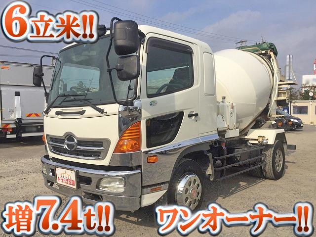HINO Ranger Mixer Truck ADG-FE7JEWA 2005 161,137km_1