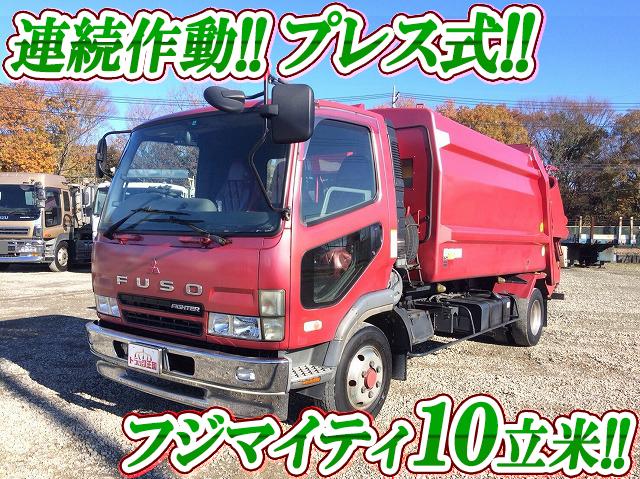 MITSUBISHI FUSO Fighter Garbage Truck PA-FK71RG 2005 317,926km_1