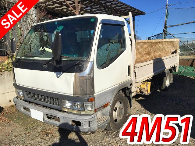 Japanese Used MITSUBISHI FUSOCanter Flat Body KK-FE62EE 2000 for