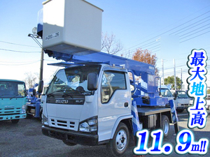 ISUZU Elf Cherry Picker PB-NKR81N 2006 -_1