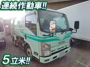 ISUZU Elf Garbage Truck BDG-NMR85N 2007 -_1