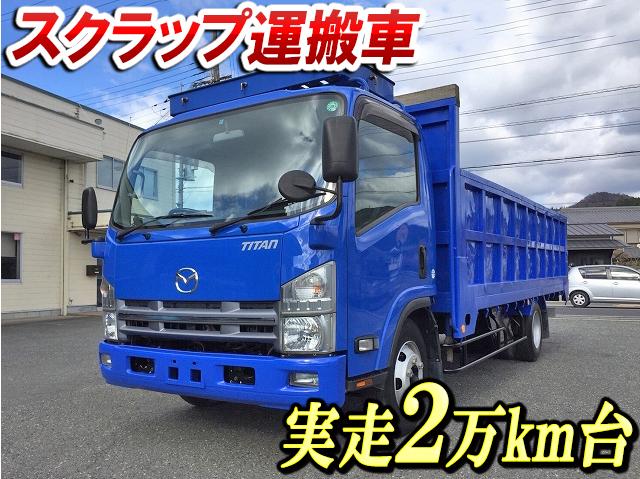 MAZDA Titan Scrap Transport Truck SKG-LPR85YN 2012 28,800km_1