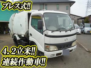 HINO Dutro Garbage Truck KK-XZU302X 2003 101,629km_1