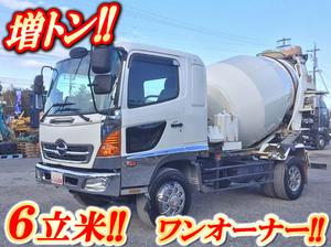 HINO Ranger Mixer Truck ADG-FE7JEWA 2005 183,021km_1