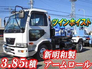 UD TRUCKS Condor Arm Roll Truck BDG-MK36C 2008 174,814km_1