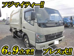 MITSUBISHI FUSO Canter Garbage Truck PDG-FE83DY 2010 171,000km_1