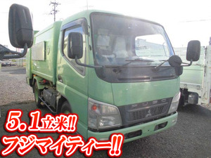 MITSUBISHI FUSO Canter Garbage Truck PDG-FE73D 2008 119,000km_1