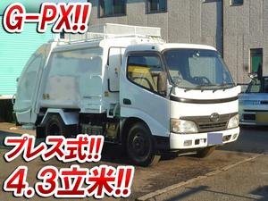 HINO Dutro Garbage Truck BDG-XZU304X 2008 114,000km_1