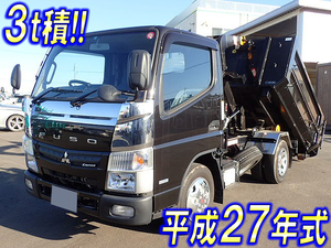 MITSUBISHI FUSO Canter Container Carrier Truck TKG-FBA50 2015 1,000km_1