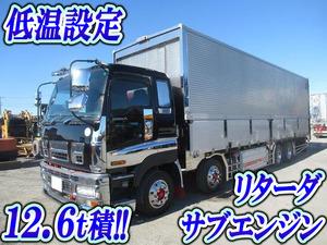 ISUZU Giga Refrigerator & Freezer Wing PDG-CYJ77W8 2009 614,647km_1