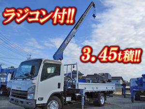 ISUZU Elf Truck (With 3 Steps Of Cranes) PKG-NPR75N 2008 -_1