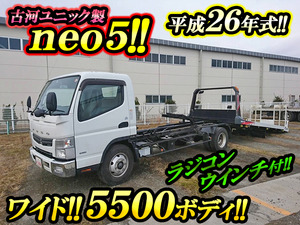MITSUBISHI FUSO Canter Safety Loader TKG-FEB80 2014 33,344km_1