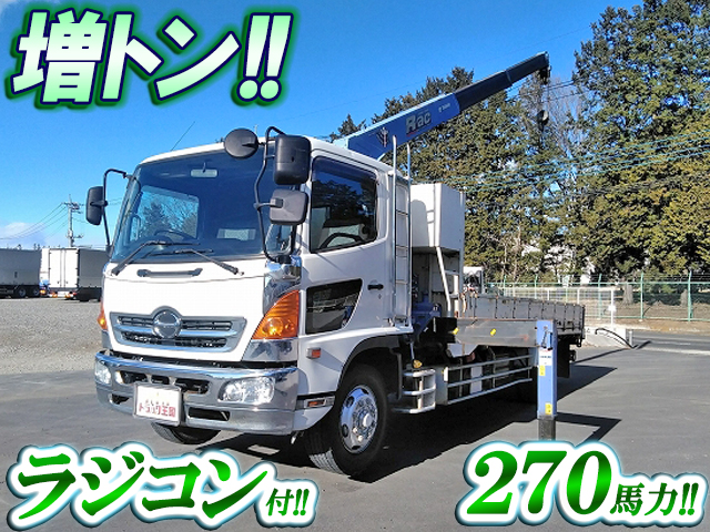 HINO Ranger Truck (With 3 Steps Of Cranes) PK-FE8JLFA 2005 313,630km_1