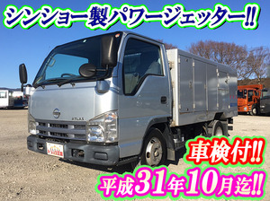NISSAN Atlas High Pressure Washer Truck BKG-AJR85AN 2007 91,895km_1