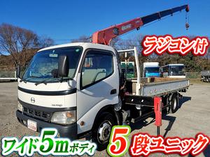 HINO Dutro Truck (With 5 Steps Of Unic Cranes) PB-XZU433M 2004 143,307km_1