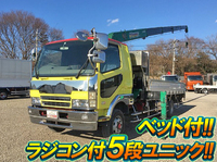 MITSUBISHI FUSO Fighter Truck (With 5 Steps Of Unic Cranes) PA-FK61FJ 2004 341,330km_1