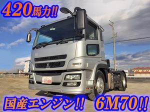 MITSUBISHI FUSO Super Great Trailer Head BDG-FP54JDR 2007 431,345km_1