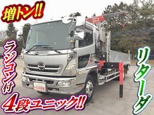 HINO Ranger Truck (With 4 Steps Of Unic Cranes) BDG-FE8JLWA 2007 340,198km_1
