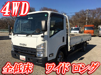 ISUZU Elf Flat Body SDG-NPS85AR 2011 193,289km_1