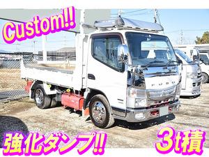 MITSUBISHI FUSO Canter Dump TKG-FBA60 2012 -_1