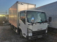 ISUZU Elf Box Van BKG-NLR85AN 2008 397,000km_2