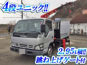 ISUZU Elf Truck (With 4 Steps Of Unic Cranes) PB-NPR81AR 2006 46,687km_1