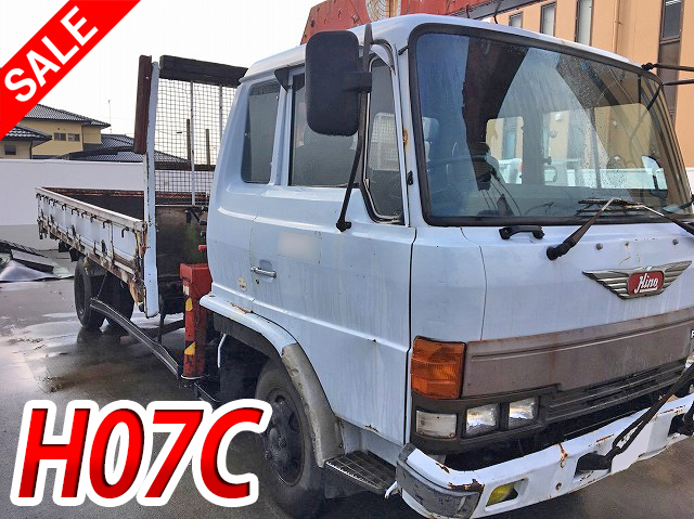 HINO Ranger Truck (With 5 Steps Of Cranes) P-FD174BA 1986 1,163,556km