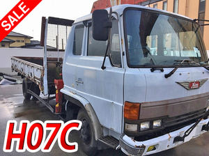 HINO Ranger Truck (With 5 Steps Of Cranes) P-FD174BA 1986 1,163,556km_1