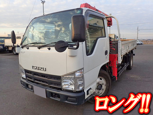 ISUZU Elf Truck (With 3 Steps Of Unic Cranes) SKG-NKR85AR 2011 43,000km_1