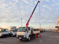ISUZU Elf Truck (With 3 Steps Of Unic Cranes) SKG-NKR85AR 2011 43,000km_3
