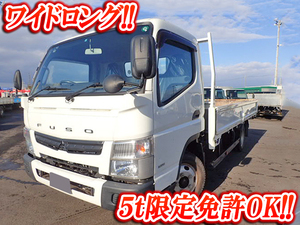 MITSUBISHI FUSO Canter Flat Body TKG-FEB50 2013 35,000km_1