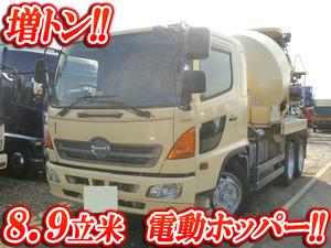 HINO Ranger Mixer Truck PK-GK8JKFA 2004 298,000km_1