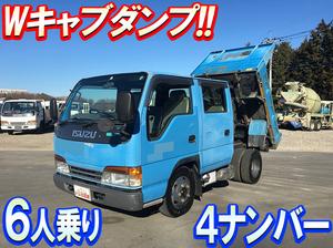 ISUZU Elf Double Cab Dump KK-NKR66ED 1999 138,083km_1