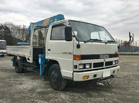 ISUZU Elf Truck (With 6 Steps Of Cranes) U-NPR61LR 1990 10,187km_3
