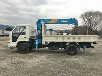 ISUZU Elf Truck (With 6 Steps Of Cranes) U-NPR61LR 1990 10,187km_5