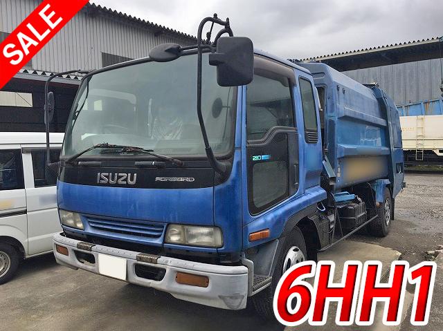 bf7e4acc14 Japanese Used ISUZUForward Garbage Truck KC-FRR33G4 1997 for Sale ...