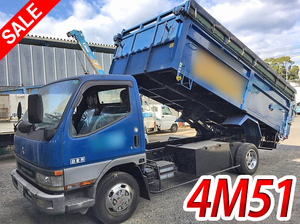 MITSUBISHI FUSO Canter Dump KK-FE63EEV 2000 110,605km_1