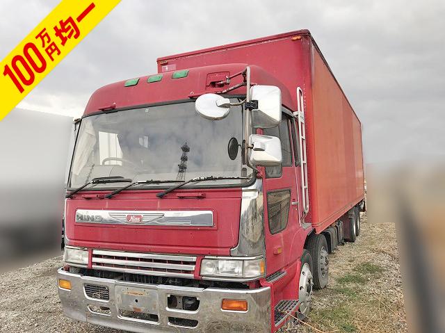 HINO Profia Aluminum Van U-FW3FWBA (KAI) 1994 774,571km_1