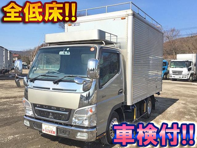 MITSUBISHI FUSO Canter Guts Aluminum Van PDG-FB70B 2009 168,540km_1