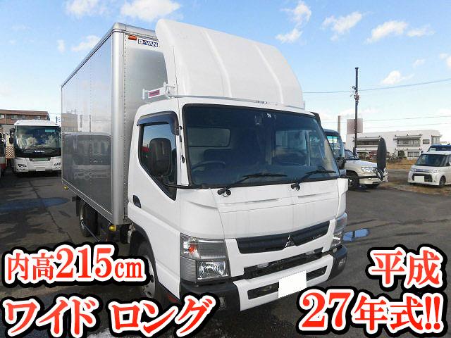 MITSUBISHI FUSO Canter Aluminum Van TKG-FEB50 2015 152,517km_1
