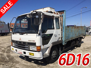 MITSUBISHI FUSO Fighter Flat Body U-FK417H 1990 222,694km_1