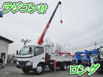 Dutro Truck (With 3 Steps Of Unic Cranes)