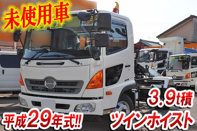 HINO Ranger Container Carrier Truck TKG-FC9JEAA 2017 508km_1