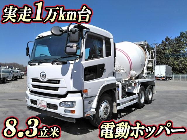 UD TRUCKS Quon Mixer Truck QKG-CW5XL 2014 17,190km_1