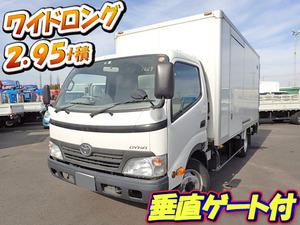 TOYOTA Dyna Aluminum Van BDG-XZU414 2010 129,000km_1
