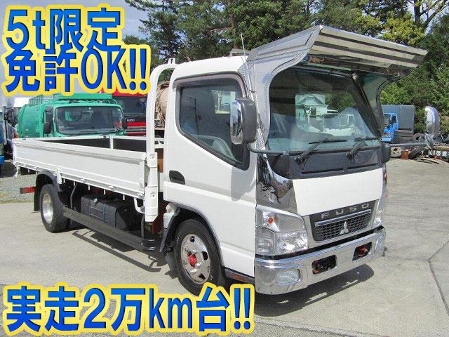 MITSUBISHI FUSO Canter Flat Body PDG-FE72D 2010 29,729km_1
