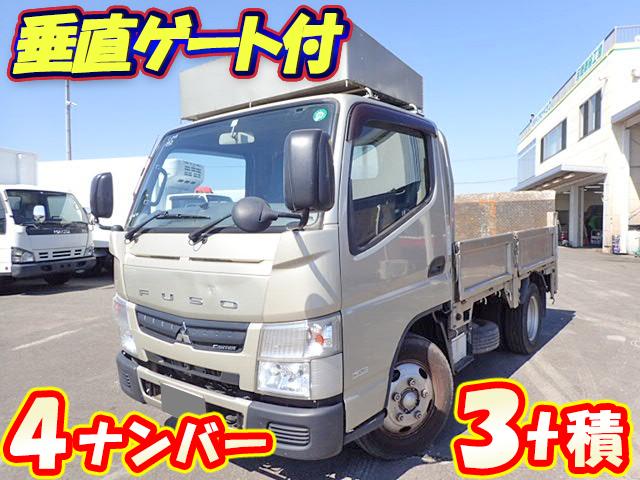 MITSUBISHI FUSO Canter Flat Body (With Power Gate) TKG-FEA50 2013 156,000km_1
