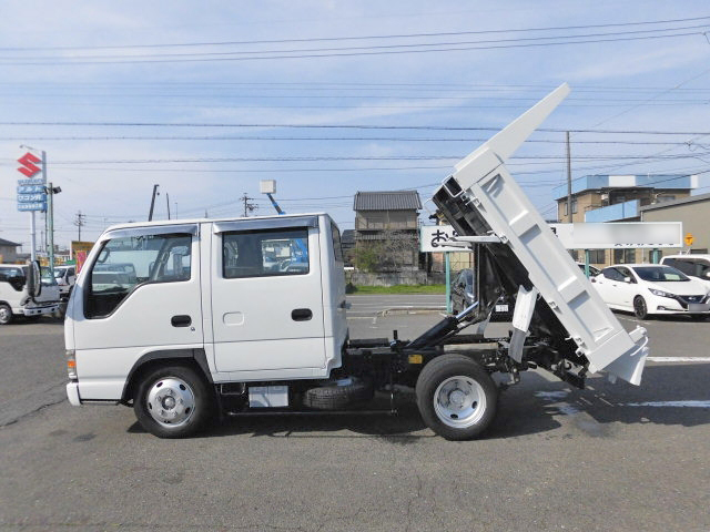 Japanese Used ISUZUElf Double Cab Dump KR-NKR81ED 2003 for