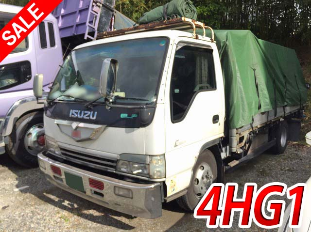 Japanese Used ISUZUElf Flat Body KK-NPR71LR 2000 for Sale