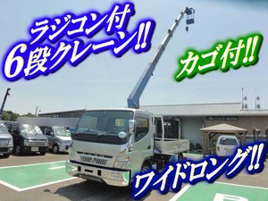 MITSUBISHI FUSO Canter Truck (With 6 Steps Of Cranes) PDG-FE83DN 2007 48,000km_1
